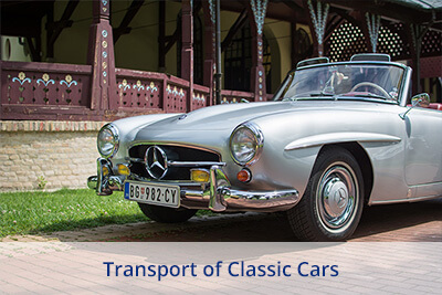 Transport of Classic Cars